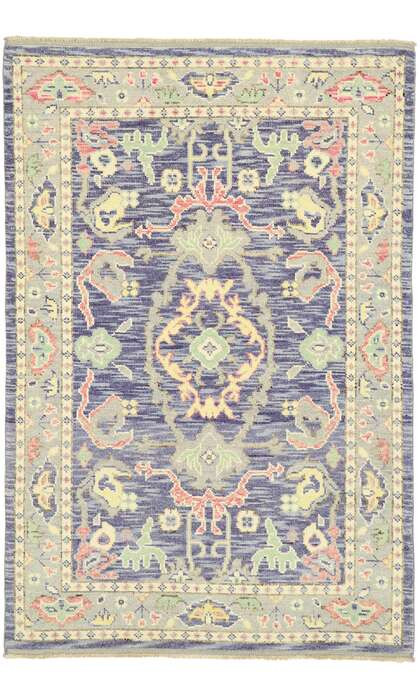4 x 6 Contemporary Oushak Rug 80594
