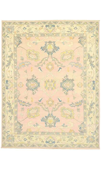 9 x 12 Turkish Oushak Rug 805979 x 12 Turkish Oushak Rug 80597