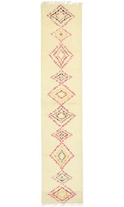 3 x 12 Contemporary Moroccan Runner 80609