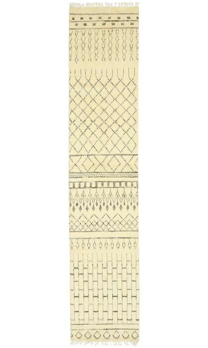 3 x 13 Contemporary Moroccan Runner 80611