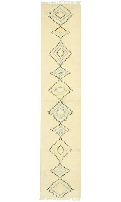 3 x 13 Contemporary Moroccan Rug 80614