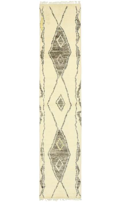 3 x 12 Contemporary Moroccan Runner 80616