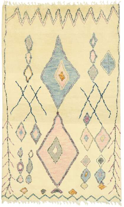5 x 8 Contemporary Moroccan Rug 80623