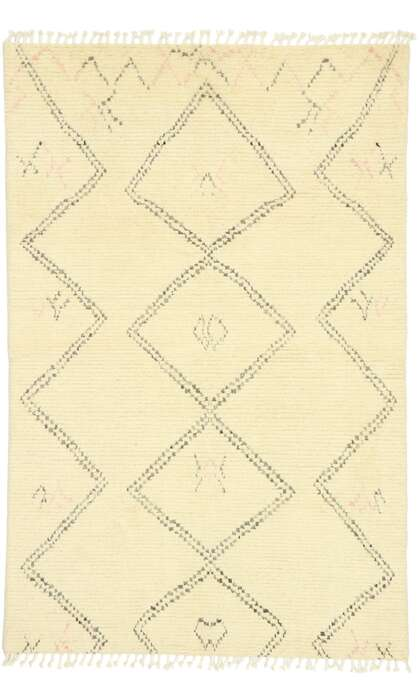 5 x 7 Contemporary Moroccan Rug 80627