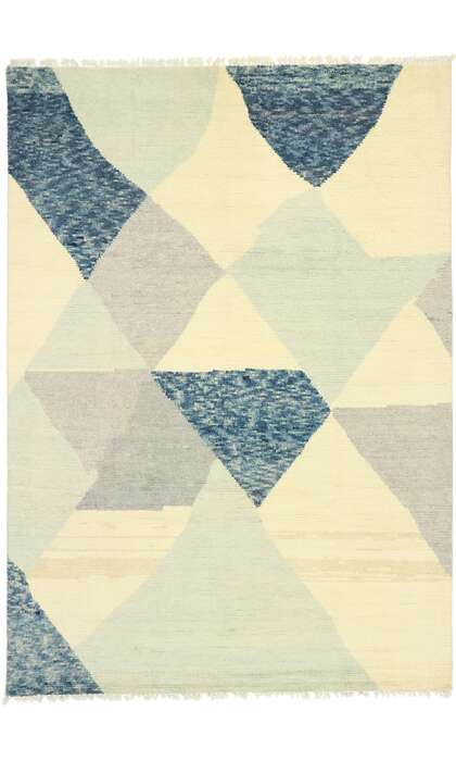 9 x 13 Contemporary Moroccan Rug 80635