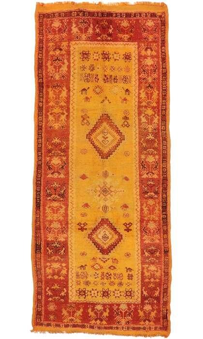 6 x 13 Vintage Moroccan Rug 20206