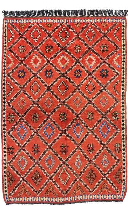 6 x 9 Vintage Moroccan Rug 20251