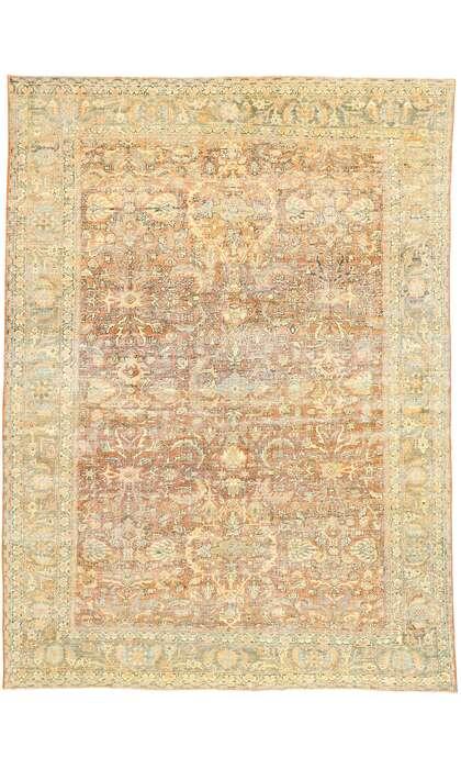 9 x 12 Antique Persian Mahal Rug 53035