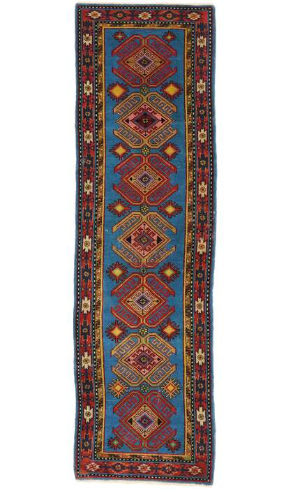2 x 8 Vintage Turkish Oushak Rug 53049