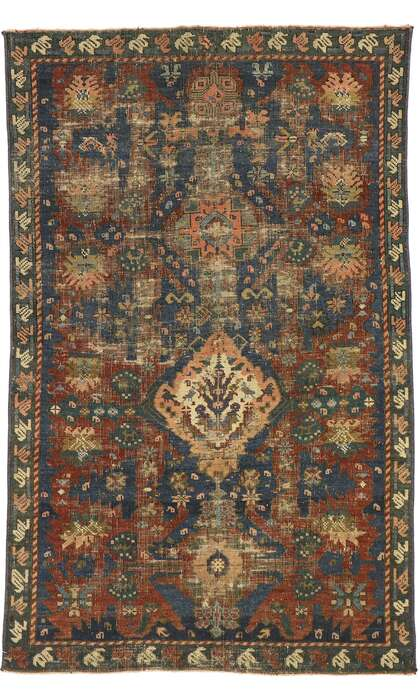 3 x 5 Antique Turkish Oushak Rug 53050