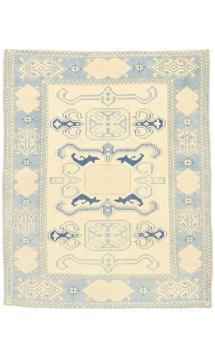 6 x 7 Vintage Oushak Rug 53053