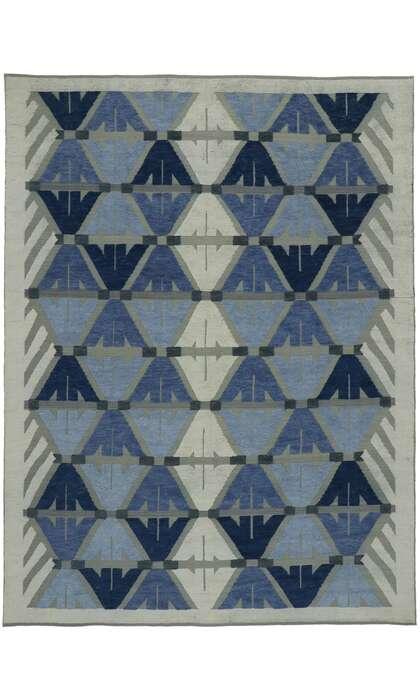 9 x 12 Contemporary Kilim Rug 30590
