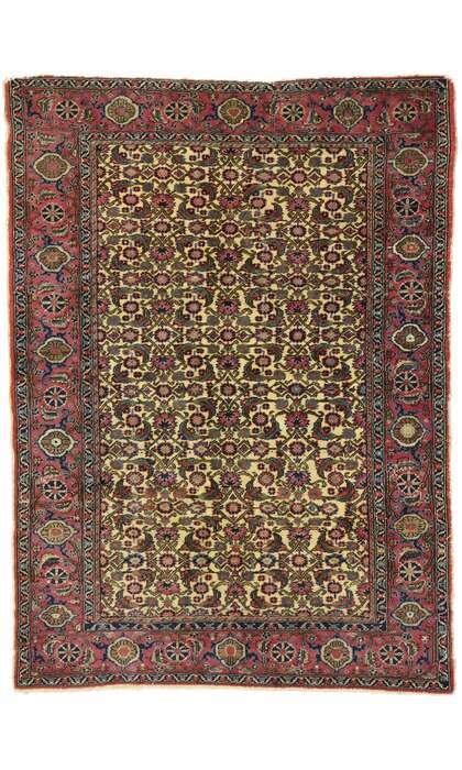 4 x 6 Vintage Turkish Sivas Rug 53068