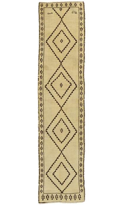 3 x 13 Vintage Turkish Oushak Rug 53084