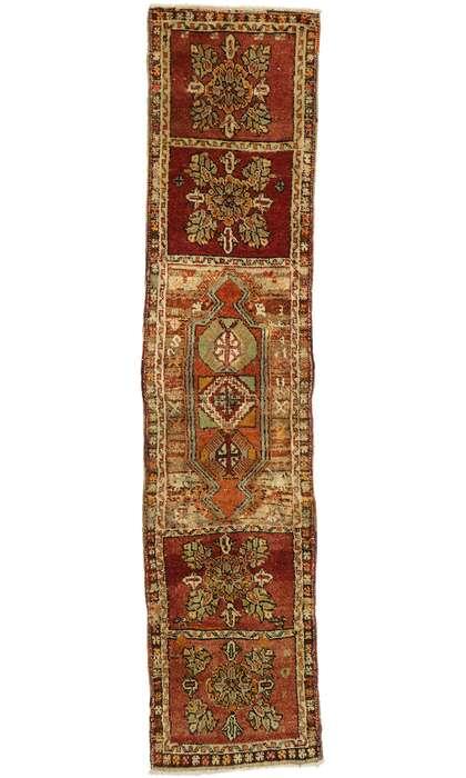 2 x 8 Vintage Turkish Oushak Runner 53095
