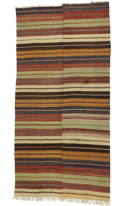 6 x 12 Vintage Turkish Kilim Runner 53130
