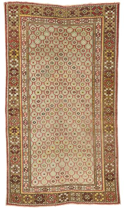 3 x 5 Vintage Turkish Sivas Rug 53142