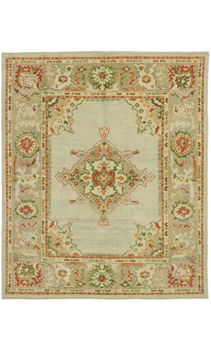 7 x 8 Turkish Oushak Rug 53159