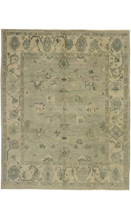 10 x 12 Turkish Oushak Rug 53197