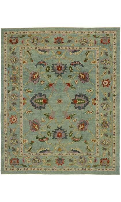 9 x 11 Turkish Oushak Rug 53205