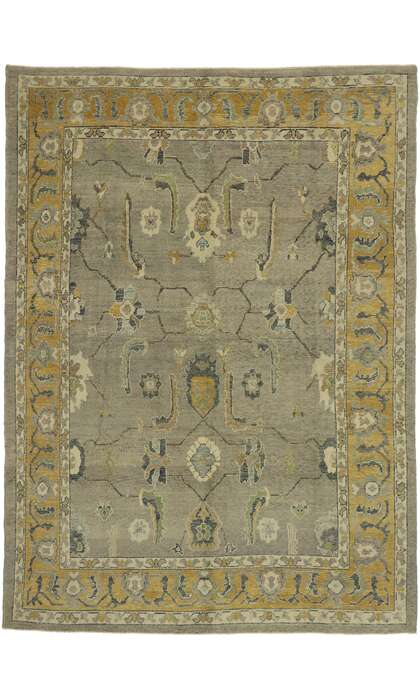 9 x 13 Turkish Oushak Rug 53206