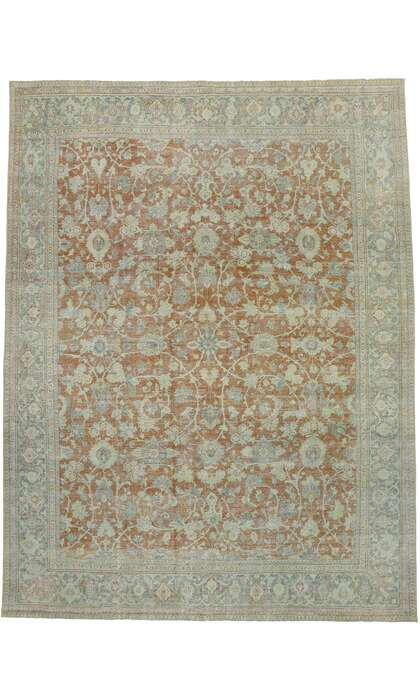 10 x 13 Antique Persian Mahal Rug 53217