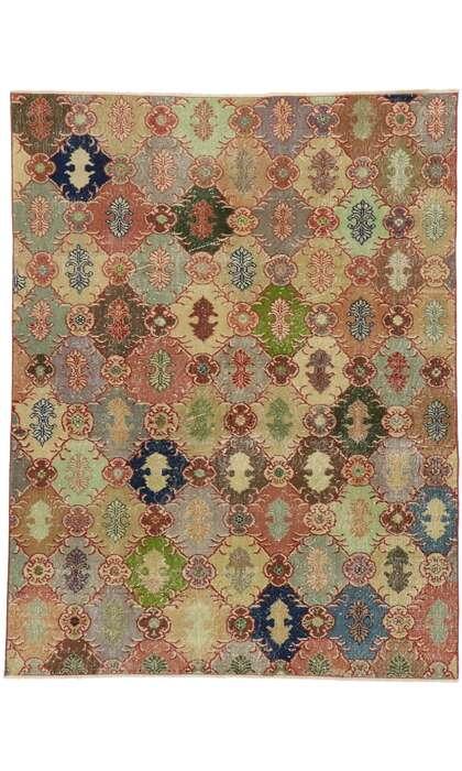 6 x 7 Vintage Turkish Sivas Rug 53227