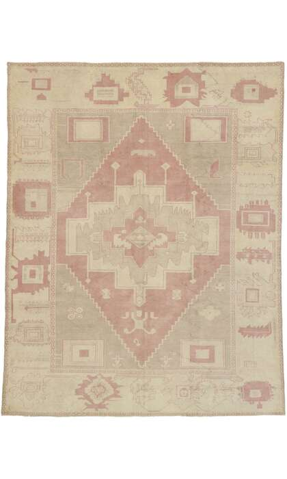 7 x 9 Turkish Oushak Rug 53229