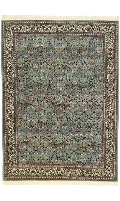 8 x 11 Vintage Turkish Harker Rug 77535
