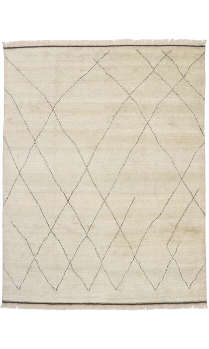 10 x 13 Contemporary Moroccan Rug 30533