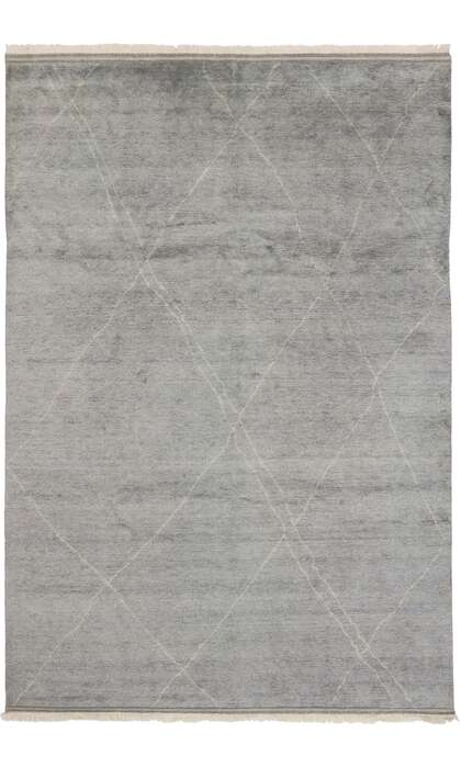 9 x 13 Contemporary Moroccan Rug 30535