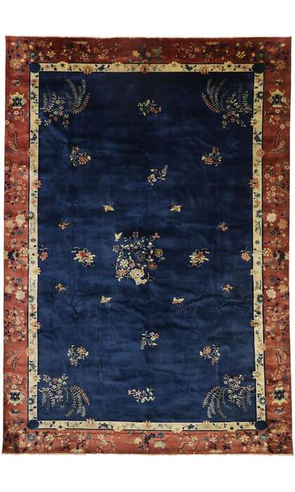 12 x 17 Chinese Art Deco Rug 30550