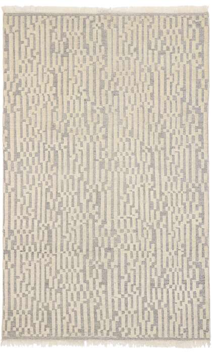 6 x 9 Contemporary Moroccan Rug 30560