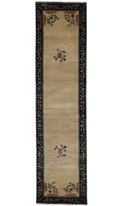 3 x 10 Chinese Art Deco Runner 30612