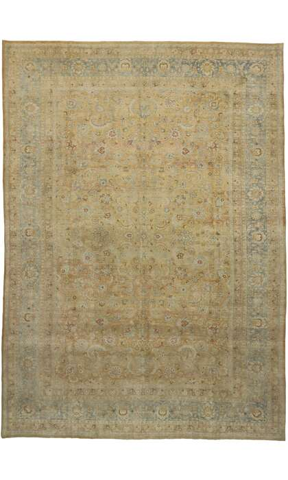 11 x 16 Antique Persian Mashad Rug 53170