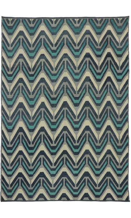 9 x 13 Contemporary Moroccan Rug 53176