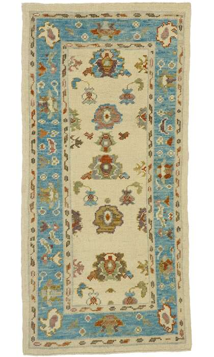 3 x 6 Turkish Oushak Rug 53196