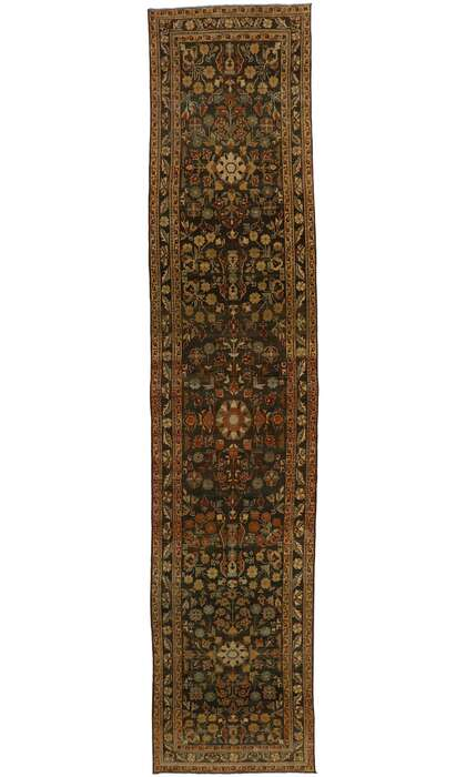 3 x 16 Antique Persian Malayer Runner 53237