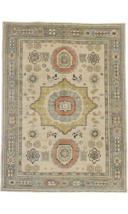 9 x 12 Turkish Oushak Rug 53263