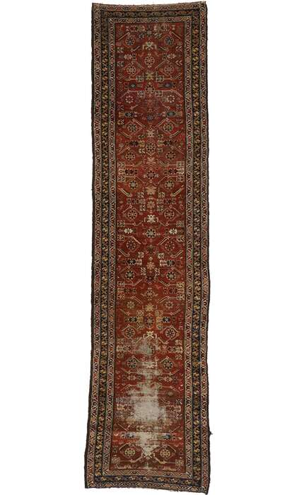 3 x 12 Antique Persian Mahal Rug 77555