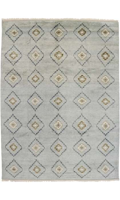 10 x 14 Contemporary Moroccan Rug 30554