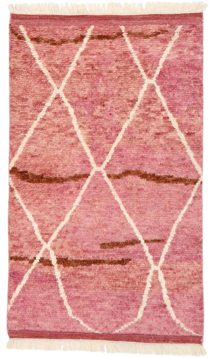 3 x 5 Contemporary Moroccan Rug 30597