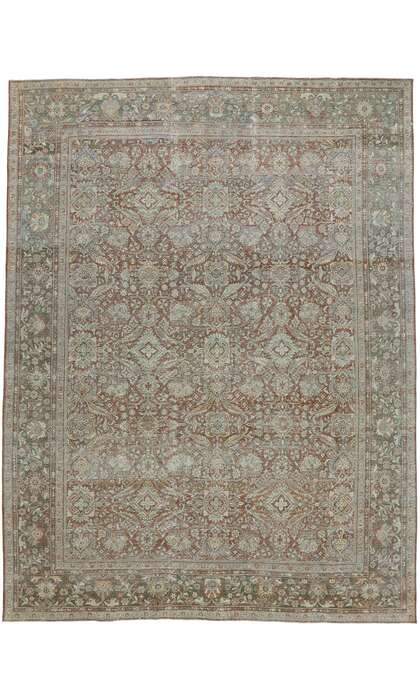 10 x 14 Antique Persian Mahal Rug 53232