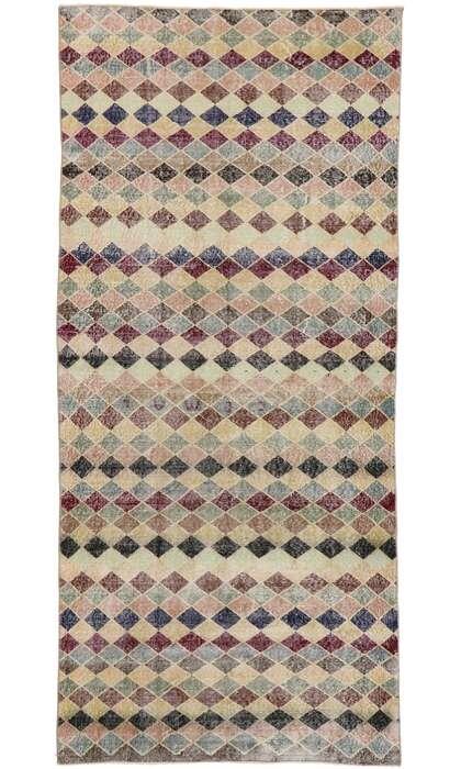 4 x 10 Vintage Turkish Sivas Rug 53363