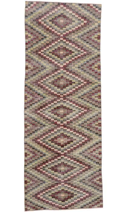 5 x 12 Vintage Turkish Sivas Rug 53367