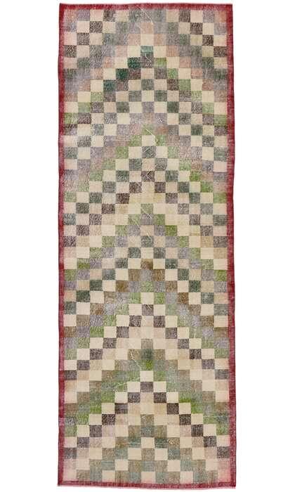 4 x 11 Vintage Turkish Sivas Rug 53369