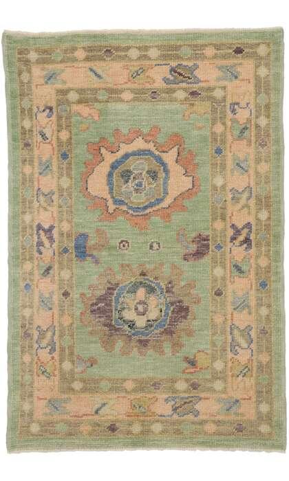 3 x 5 Turkish Oushak Rug 53381