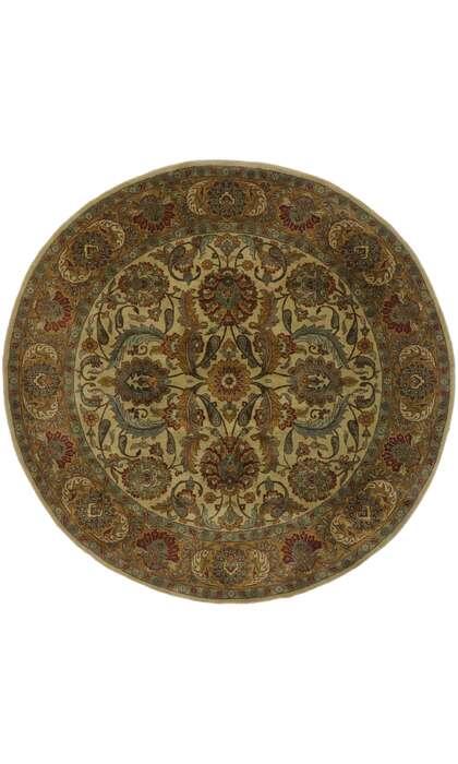 8 x 8 Vintage Indian Rug 77567