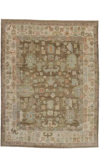 10 x 13 Turkish Oushak Rug 50853