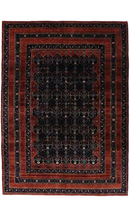 10 x 13 Antique Persian Bijar Rug 53392